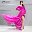 Melario Maternity dress 2017Maternity Photography Props Maternity Flower Embroidery Dress Sleeveless Voile Summer Pregnant Dress