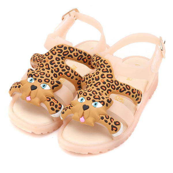 Melissa 2018 New Summer New Mini Roman Shoes Girls Sandals Flox Brazilian Sandals Shoes Soft