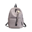 Menghuo Badge Women backpack Ribbons School Bags For Teenagers Girls Fashion Bags Classic