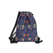 Menghuo Brand Women Drawstring Bag  6 Cute Pattern Printed Small Women's Backpack Kids School