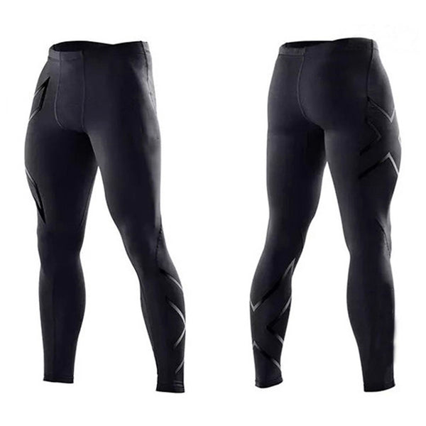 Mens Joggers Sexy Tight Pants Men Compression Pants Ankle Length Pants Male Trousers Sweatpants