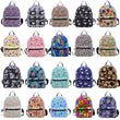 Mini Canvas Backpack Bag For Teenage Girls korean Backpack Women Bagpack Female Bolsa Escolar