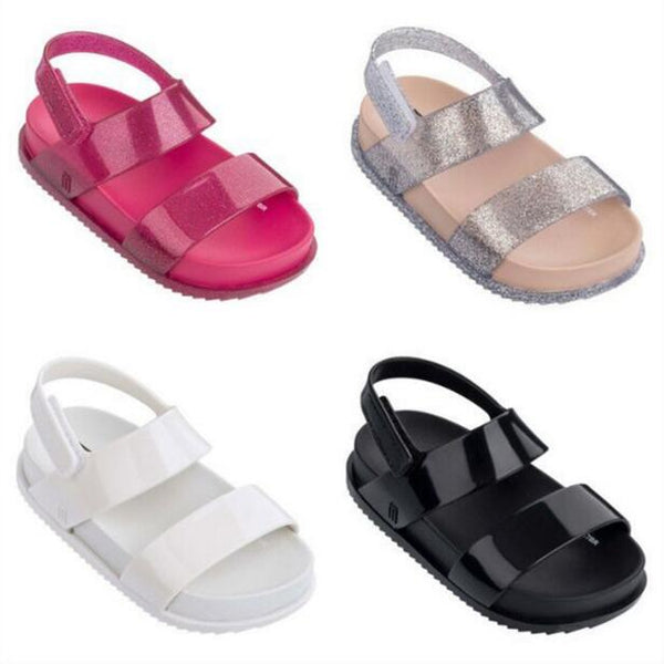 Mini Melissa 2018 New Children Shoes Sandals for Girls Casual Sandals Wear-resistant Children