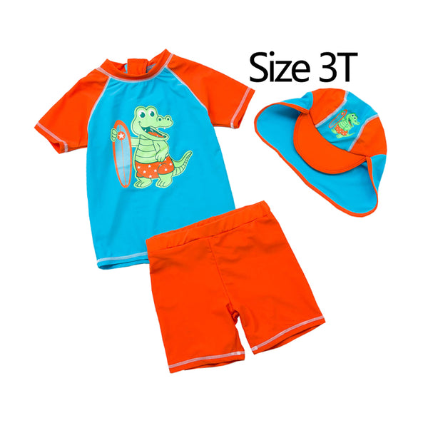 Mioigee 2018 Summer New Design Kids Swimwear Boys Sun Cartoon Swim