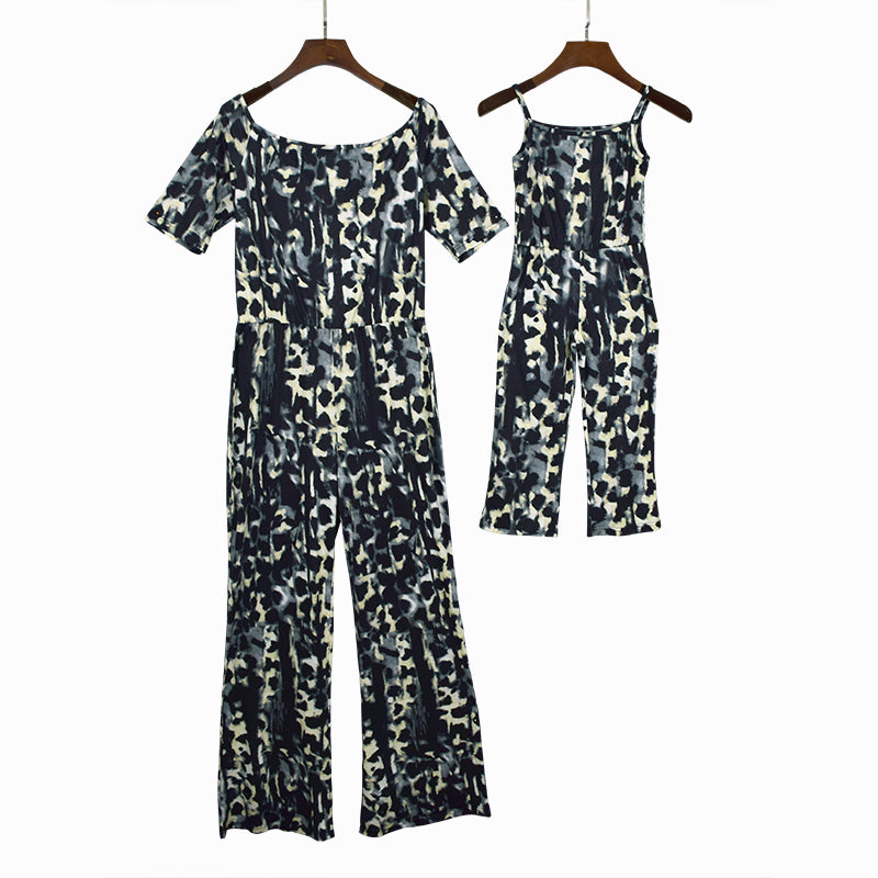 47a8be6c8 Mother Daughter Matching Clothes Fashion Leopard Print Rompers Mom Sex –  Beal | Daily Deals For Moms