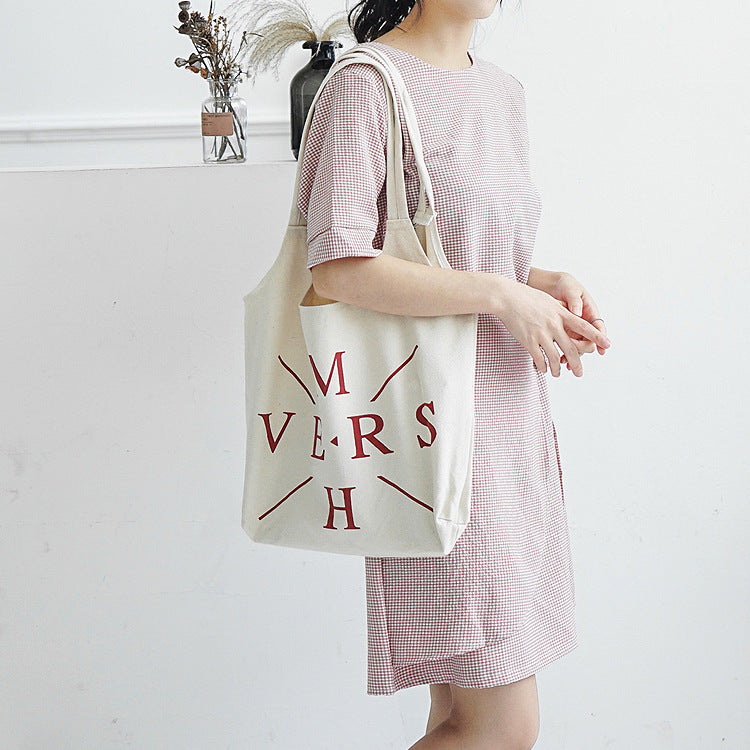 Myvision Double Layer Linen Cotton Tote Female Single Shopping Bags ... bf4cbac00e01f