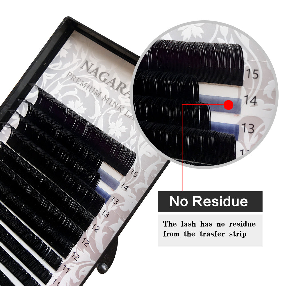 2f75c2103f3 NAGARAKU 5 cases 16rows high-quality mink eyelash extension,individual –  Beal | Daily Deals For Moms