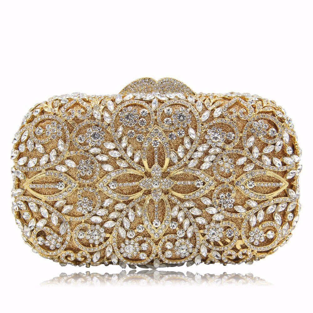 f2bef9eaff NATASSIE Women Evening Bags Ladies Party Clutch Bag Female Gold ...