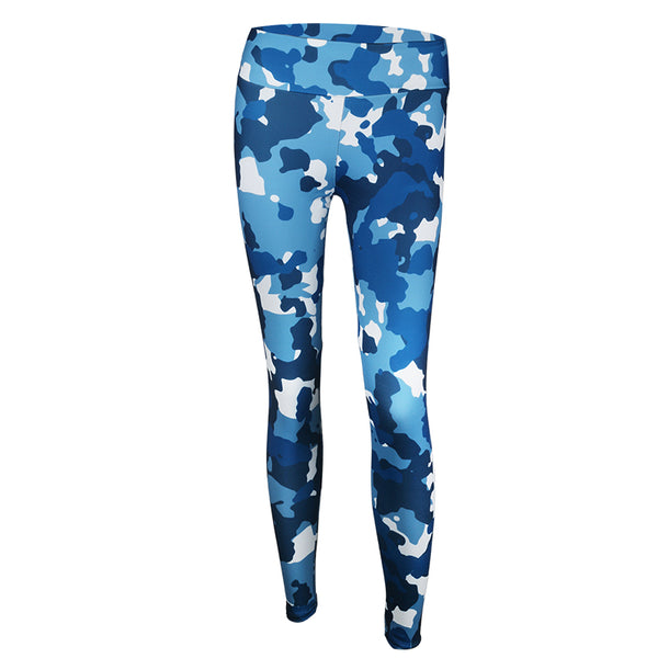 NORMOV Women Camouflage Leggings High Waist Push Up Legging Winter Autumn Sporting Jeggings Activewear Workout Legging S-XL