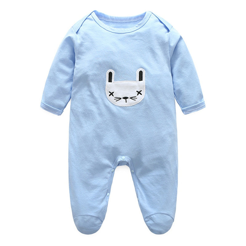 a302007737de New Cute Spring and Autumn Casual Romper Infant striped Long Sleeve ...