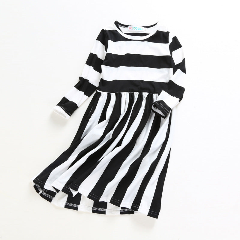 41c1ae175871 New Family Dress Mother Daughter Spring Fashion Striped Family Look Ma –  Beal | Daily Deals For Moms