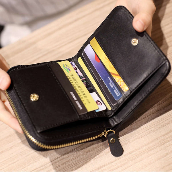 New Fashion Case Purse Lady Women Leather Clutch Wallet Long Card Holder Handbag