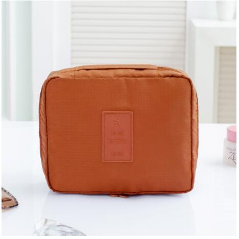 New Sale Women Portable Travel Makeup Bag Double Zipper Cosmetic Bags Men Make Up Organizer Toile Toiletry Bag Kits Travel Wash