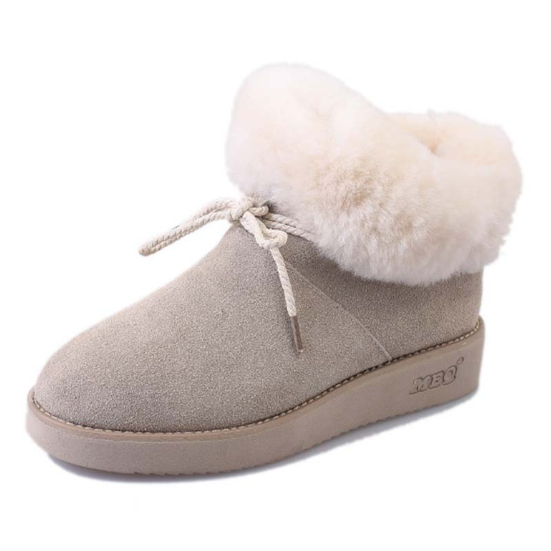 0051883602b4f New women snow boots with bow women boots female girls fashion winter boot  warm comfortable shoes