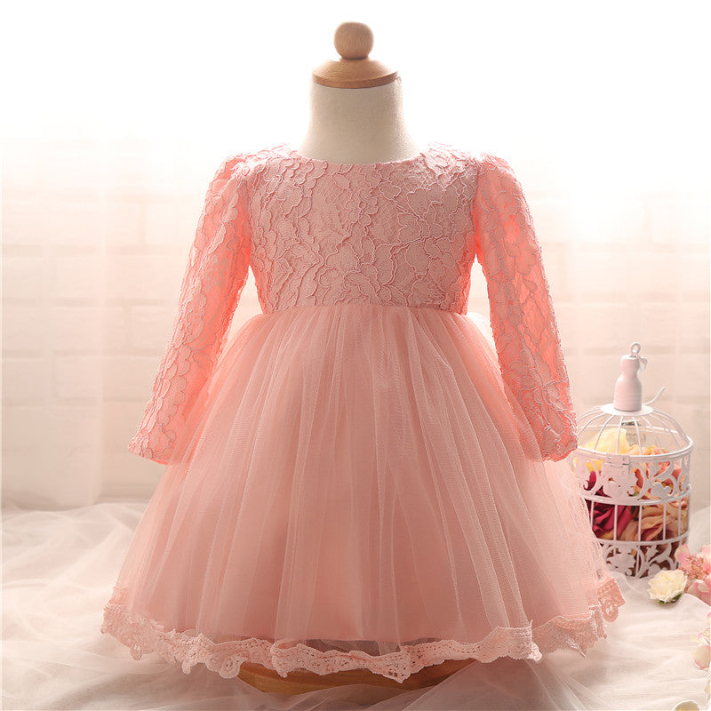 8b39e61991b4c Newborn Baby Girl Christmas Dress Lace Infant Christening Gown For Wedding  Party Toddler Girl 1st Birthday Outfits Bebes Vestido – Beal | Daily Deals  For ...