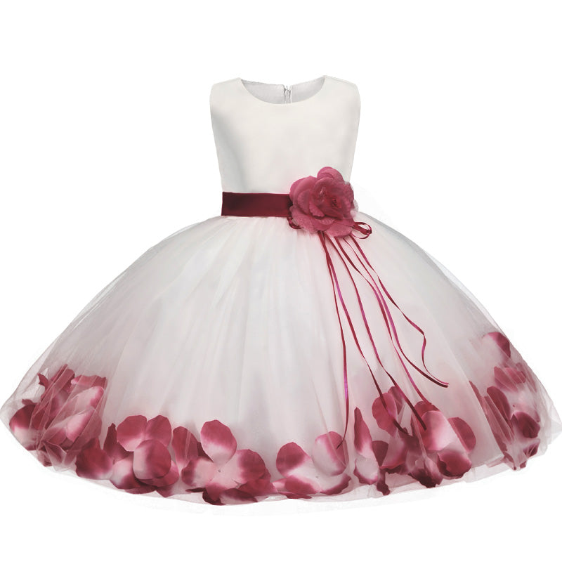 7802a76ddd9c1 Newborn Dresses For Baby Girls Flowers Toddler Christening Gown Kids S –  Beal | Daily Deals For Moms