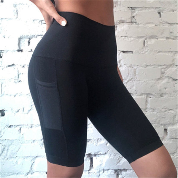 ONE F Knee Length Sports Legging For Women Riding High Waist Tummy Control Fitness Squat Pants Push