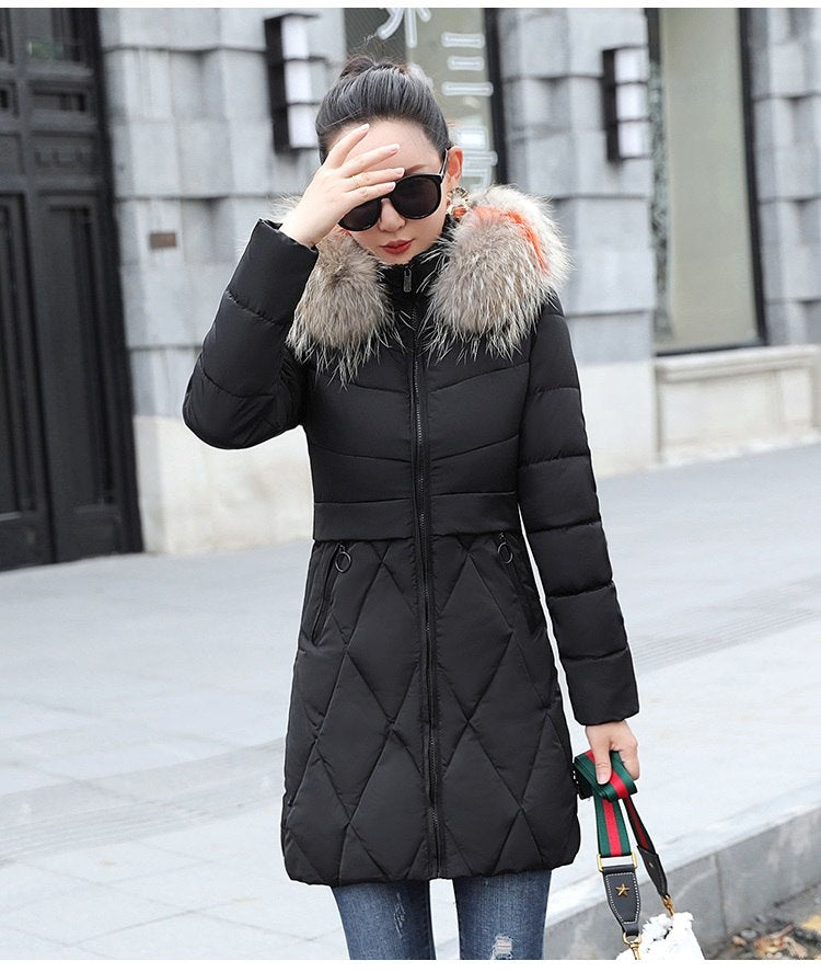 a83af751295 Plus size 3XL Winter Jacket 2018 Winter Coat Women Thicken Warm ...