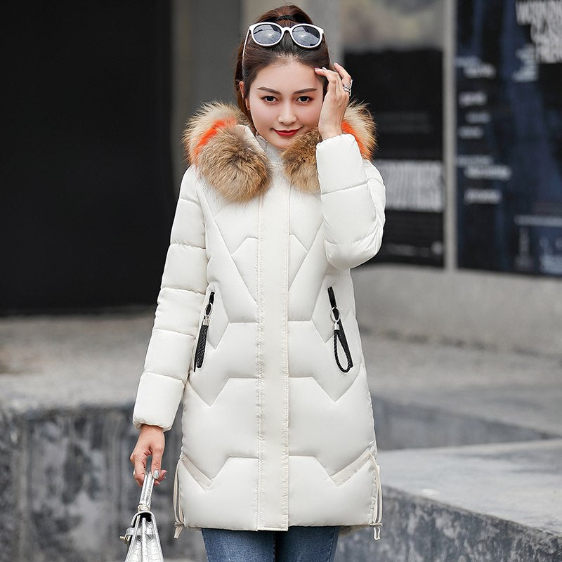 820f9d84fba Plus size 3XL Winter Jackets 2018 New Down Parkas Women Thicken Warm Hooded  Wadded Jackets Womens Cotton-padded Coats Ms jackets – Beal