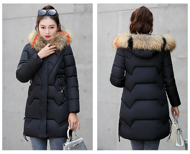 11f289f842d Plus size 3XL Winter Jackets 2018 New Down Parkas Women Thicken Warm ...