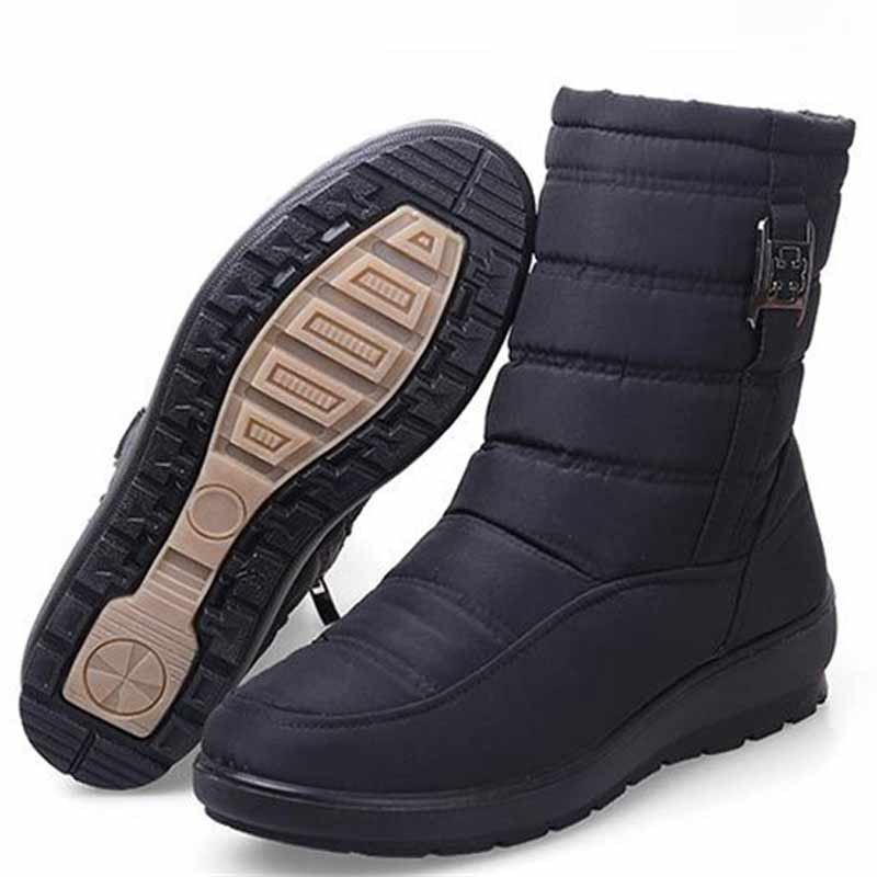 d779dda005a Plus size snow boots women winter boots plus fur keep warm non slip women  boots 2018 waterproof casual women shoes – Beal