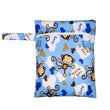 [Pororo] 2017 New mini Wet Bag Washable Reusable baby cloth diaper Bag Waterproof Printer PUL Wet
