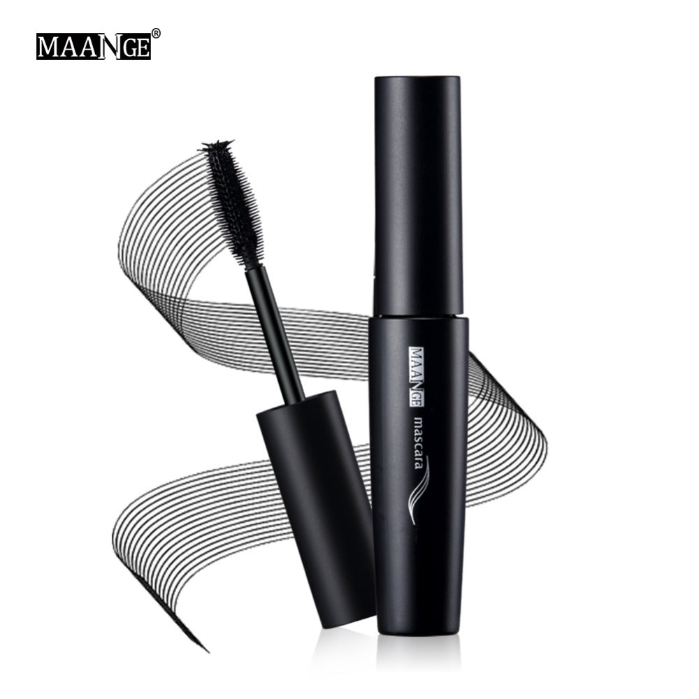 Professional 1pcs Cosmetic Mascara Waterproof Volume Curling Lashes Black Tick Eyelash Extension
