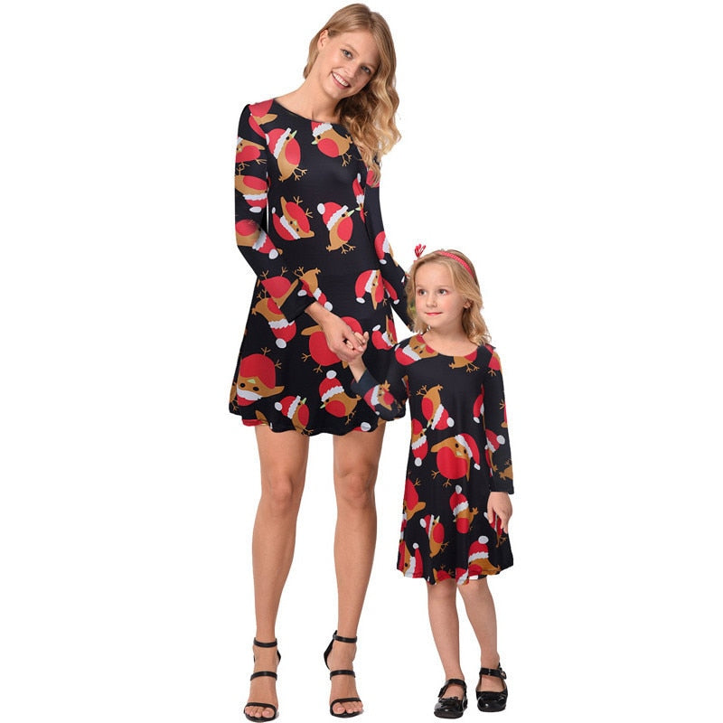 aba337cc95bb Ruiyige 2018 Family Matching Outfits Christmas Clothes Mother ...