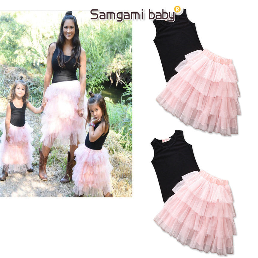 samgami baby family matching outfits parent child outfit girls