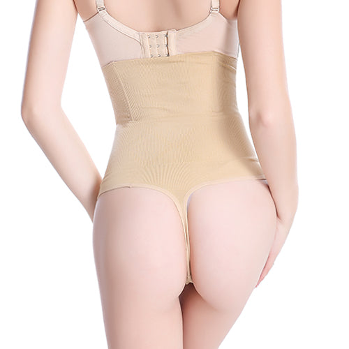 b1d2af279b SJASTME Women High Waist Panty Brief Body Shaper Tummy Control Belt ...