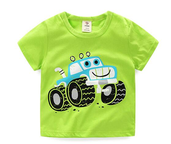 bea338229d1b Short sleeve boys t shirt baby boy summer clothes toddler boys tops ...