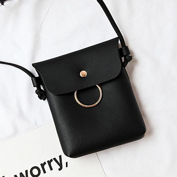 Single Pu Small Women Messenger Bag New Parcel Skew Bag Female Pure Color women bag women handbags