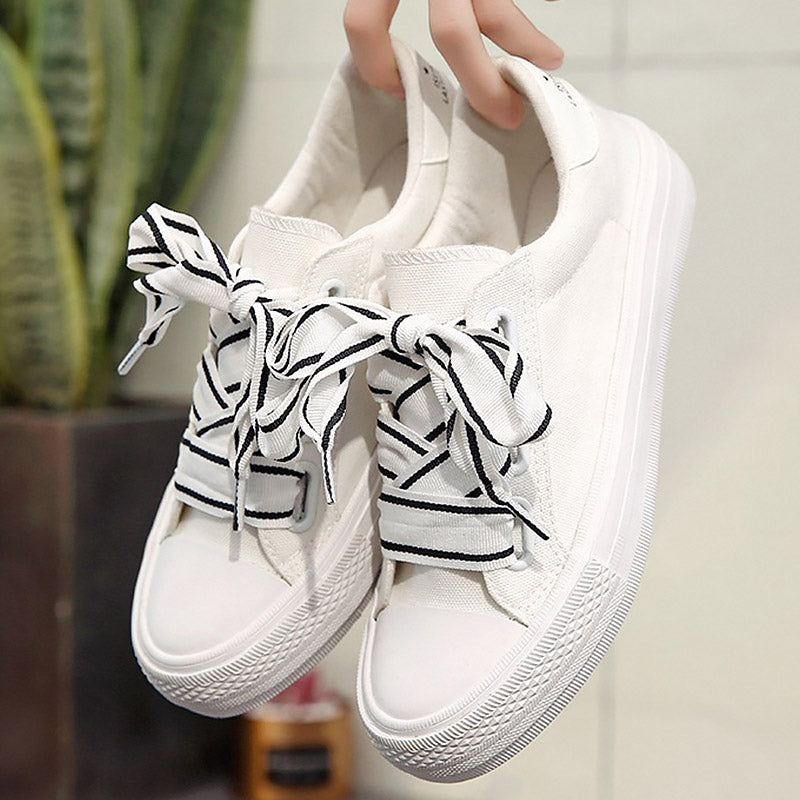 11e279dff22d Sneakers women platform shoes 2018 new shoes butterfly knot sewing ...