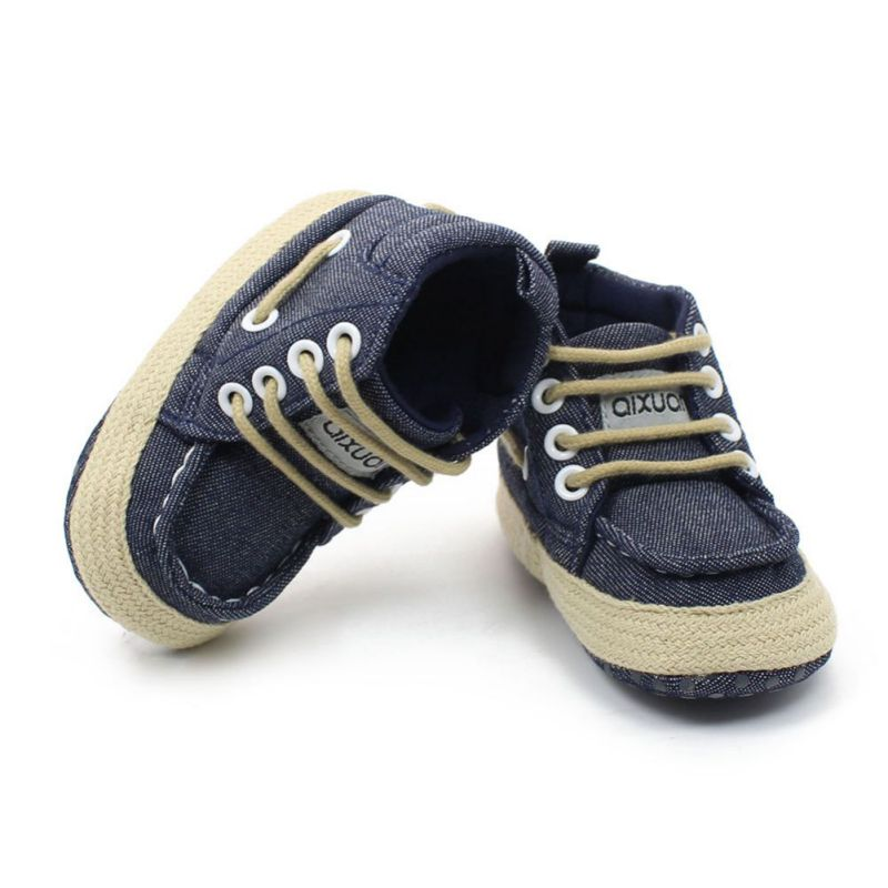 00b20205dd2 Spring Autumn Toddler Baby Winter Shoes Girl Boy Soft Sole Canvas ...