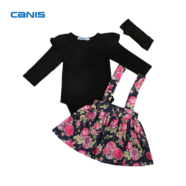 Spring & Autumn & Winter Newest Fashion Cute Cotton Flower Girl Overall Dress Kids Baby Party Pageant Lace Tulle Tutu Dresses