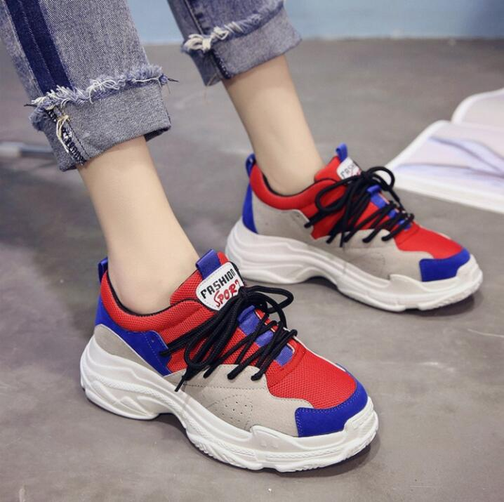 dfc0901594 Spring New Designer Wedges Black Platform Sneakers Women Shoes 2018 Tenis  Feminino Casual Female Shoes Woman Basket Femme Haraju – Beal | Daily Deals  For ...
