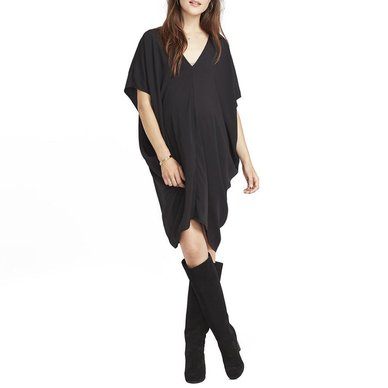 4bf1f3abd6 Summer Dress 2018 Sexy V Neck Short Batwing Sleeve Dresses Casual ...