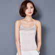 Summer Tank Top Women Sexy Sleeveless V Neck Silk Basic Tops Blusas Casual Vest Camisole Women Crop Top Female Cropped 2018 A289