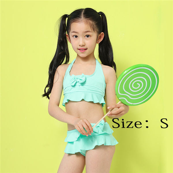 960e7edb9d Swimsuit Female baby New Contrast Color Beachwear Bikini Girl Teenage  Patchwork Two-Pieces Bathing Suit Child's Swimwear – Beal | Daily Deals  For Moms