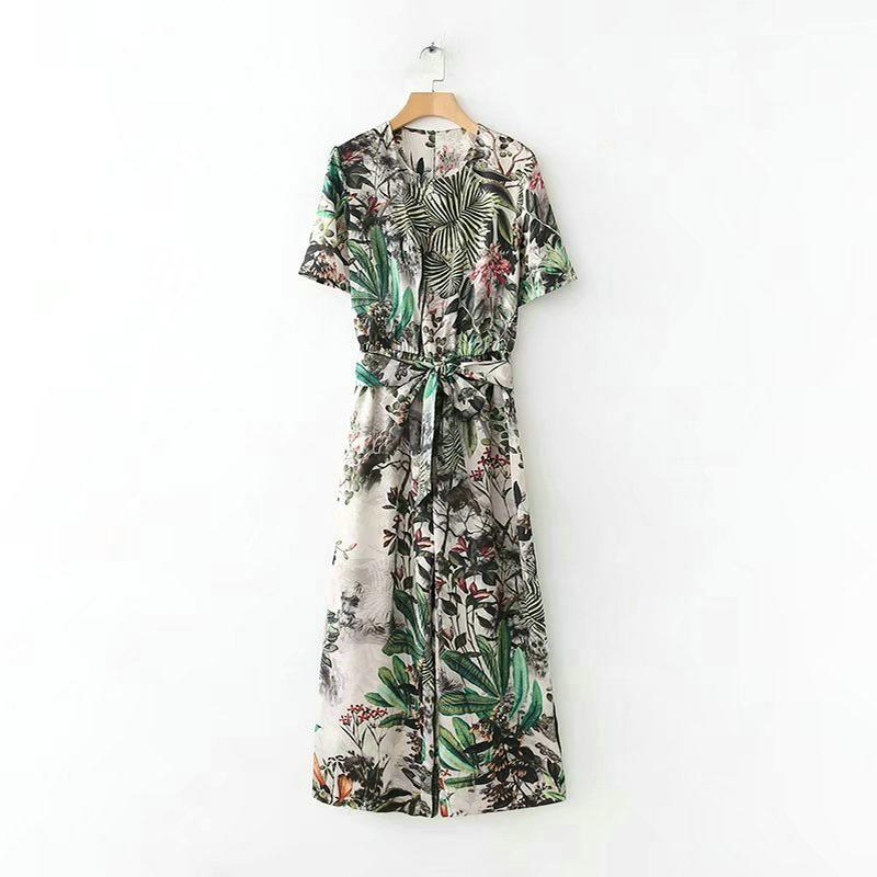 bb48feba1 Tangada v-neck rompers womens jumpsuit vintage floral jumpsuit one ...