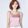 Tank top Women Fittness Elegant Bee Embroidery Silk Vest  2016 New Fashion Summer Crop Top Lady Sleeveless Shirt Clothing A952