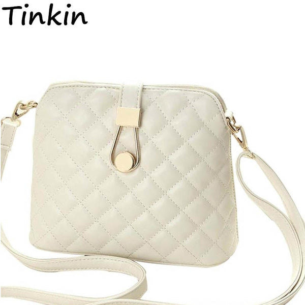 Tinkin Small Autumn Shell Bag Fashion Embroidery Shoulder Bag Women Messenger Bag Hot Sale Female