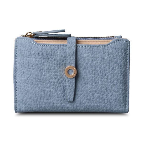 Top Quality Latest Lovely Leather Short Women Wallet Fashion Girls Change Clasp Purse Money Coin