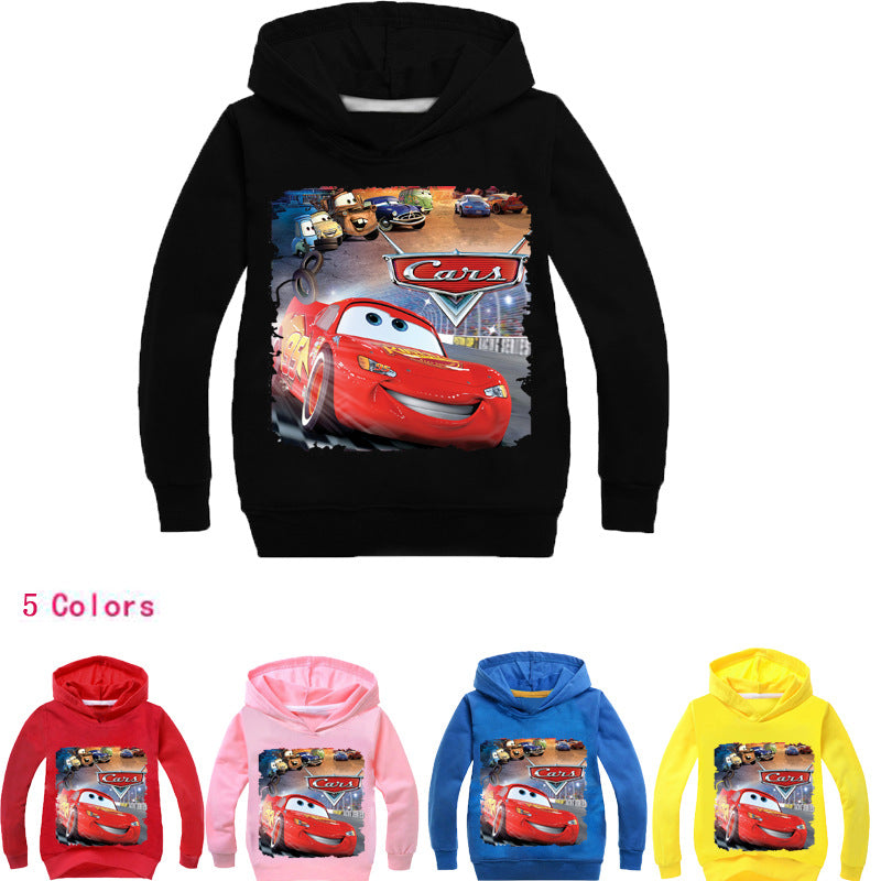 Toddler Child Baby Girls Cartoon Jacket Outerwear Hoodie Tops Coat Colorful Tops