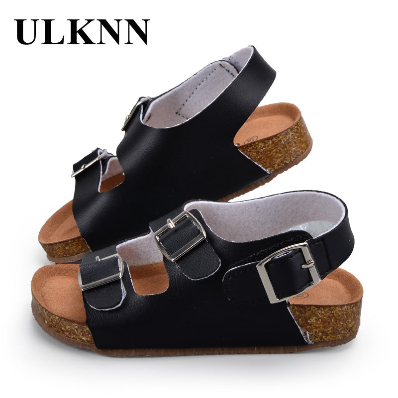 b11528f9885f ULKNN Children Shoes Kids Sandals Boys Girls For School PU Leather Bre –  Beal | Daily Deals For Moms