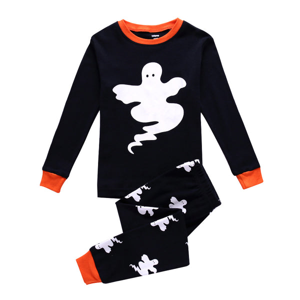 Unisex Kids PJs Halloween Ghosts Printed, Creative Children's Housecoat Halloween Evil COS