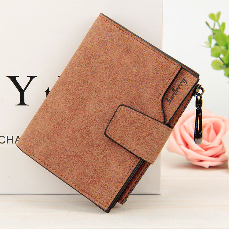 5658b9553d43 Wallet Women's Vintage Fashion Top Quality Small Wallets PU Leather Purse  Female Money Bag