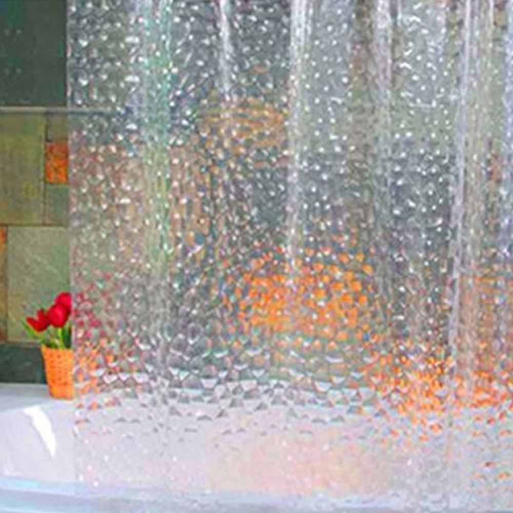 Waterproof Polyester Fabric Bathroom Modern 3D Creative Shower