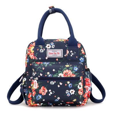 9b1158d8f12e Waterproof Women Backpacks Female Casual Printing School Bags For ...