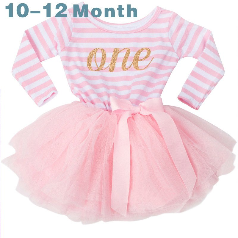 eb4232d91896 Winter Baby Girl Baptism Dress Clothes For Newborn Infant 1 2 3 Year ...